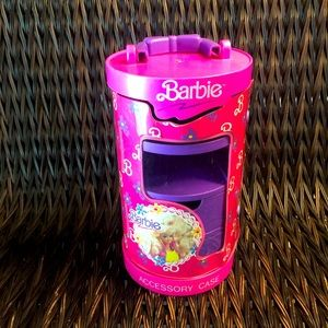 Round tower Barbie accessory case